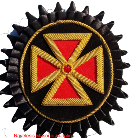 Grand Commandery Delux  Rosette Golden Bullion