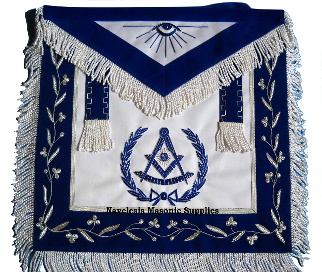 Masonic 00PM Past master apron