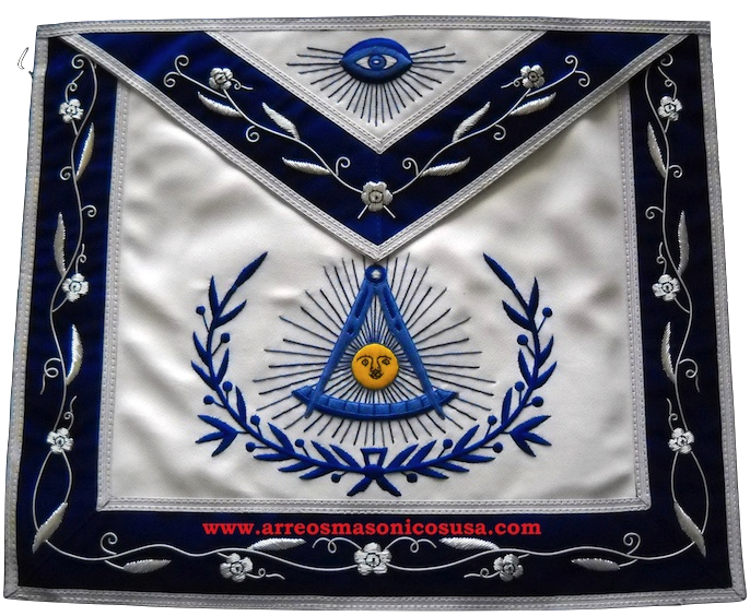 00R5 Masonic  Past master apron