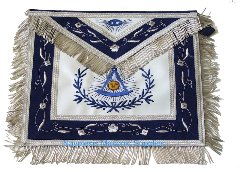 00R6 Masonic  Past Master Apron