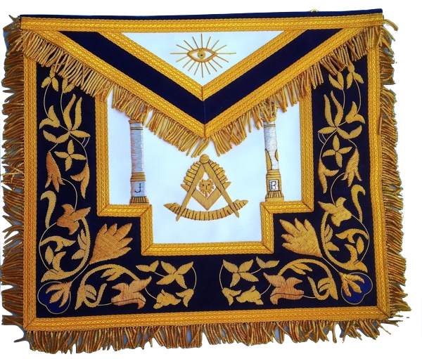 Past Master Apron 9921 Gold