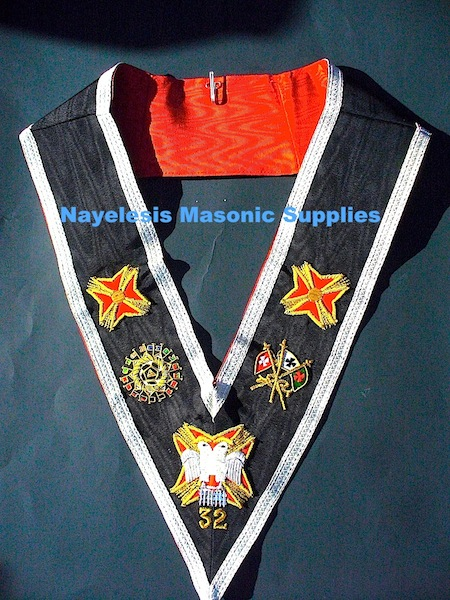 32ND Degree Regalia Collar