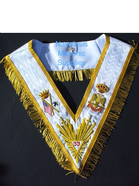 33rd Degree The Lux Golden Collar