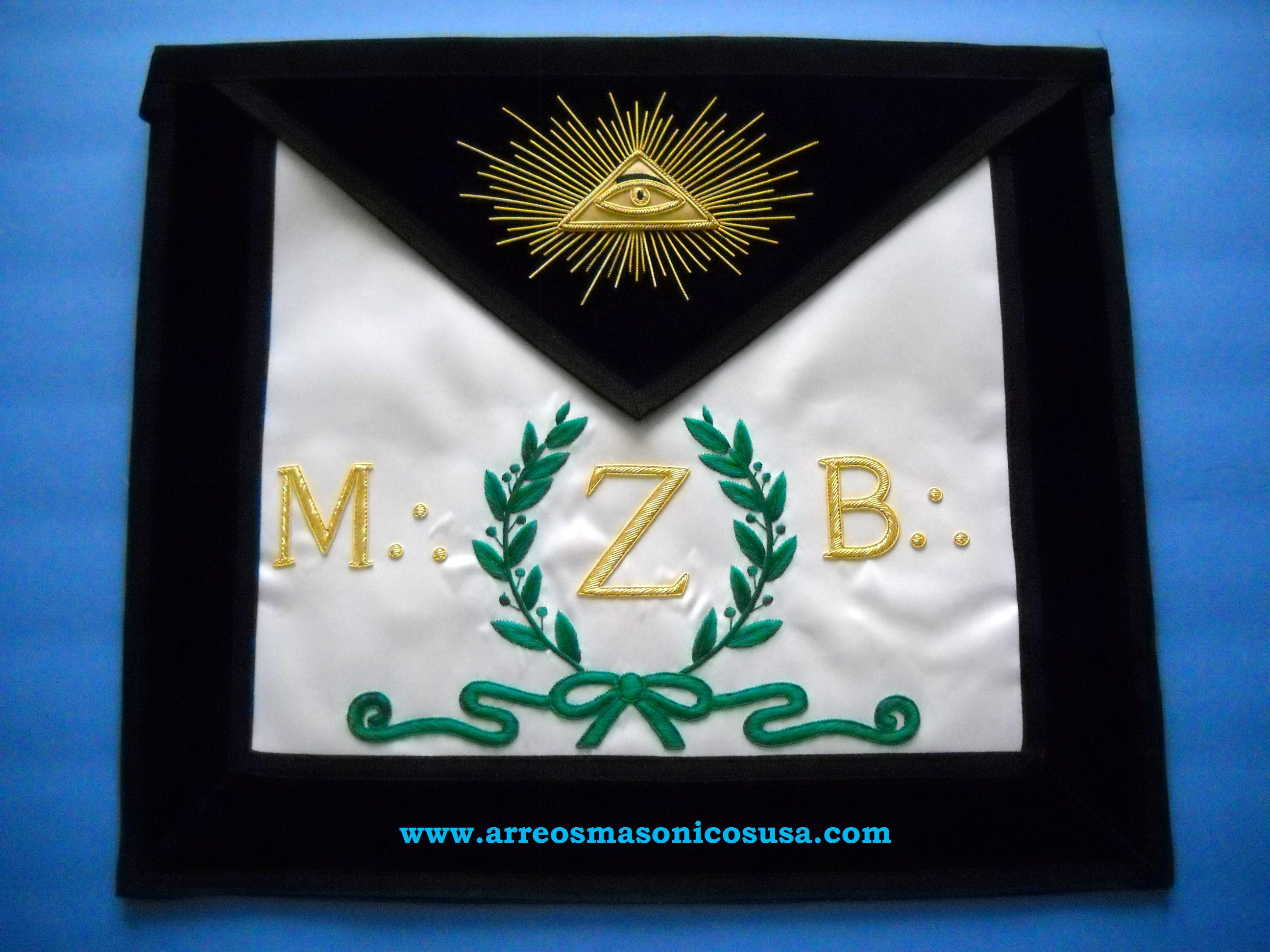 4TH Degree  Lux Scottish Rite Masonic Apron