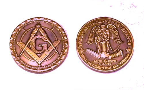 Commemorative Master Mason Coin