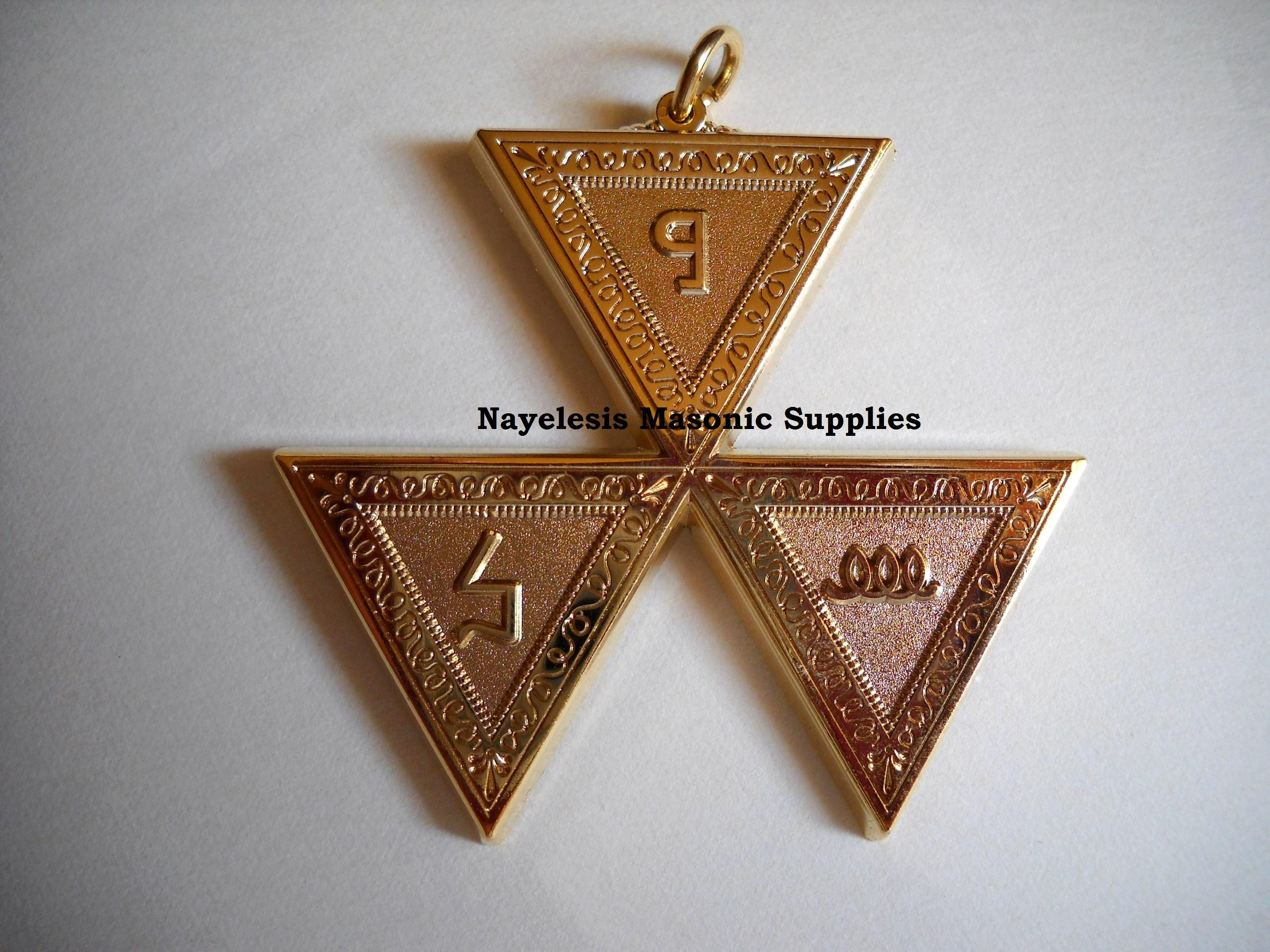 Scottish Rite 6th Degree Jewel