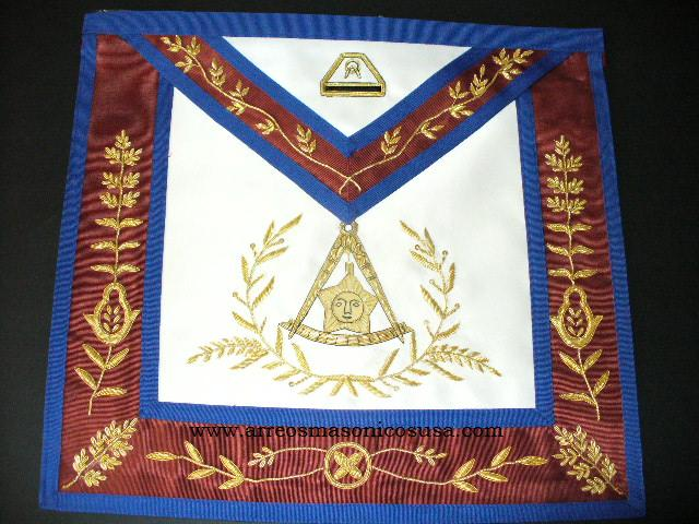 Scottish rite apron lux 14 degree