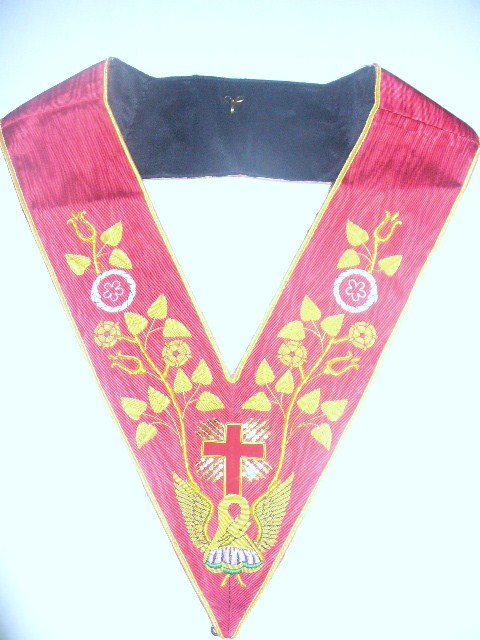 Masonic Rose Croix Collar