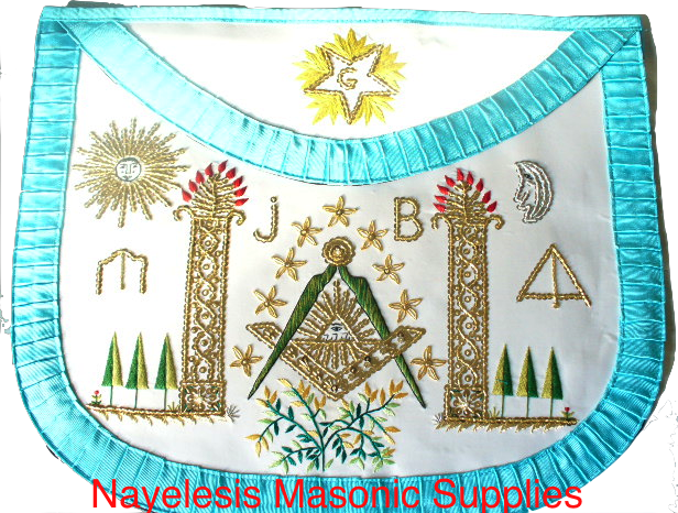 French  Rite ASSR Masonic Apron