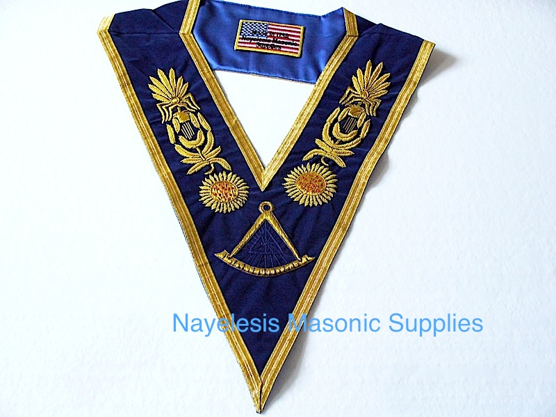 Grand Master Golden Bullion Collar 01