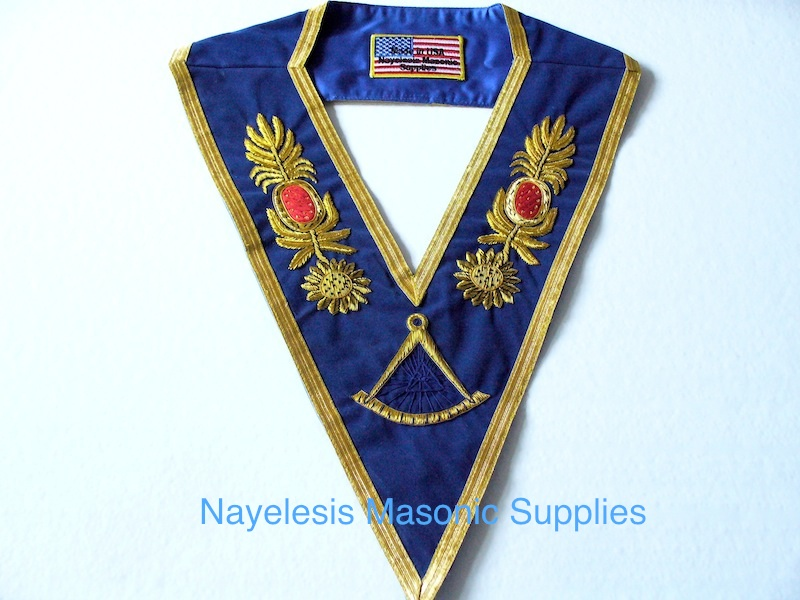 Grand Master Golden Bullion Collar 02