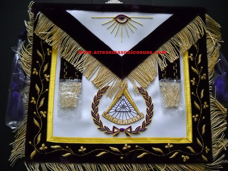 Masonic Deputy grand master past grand master apron