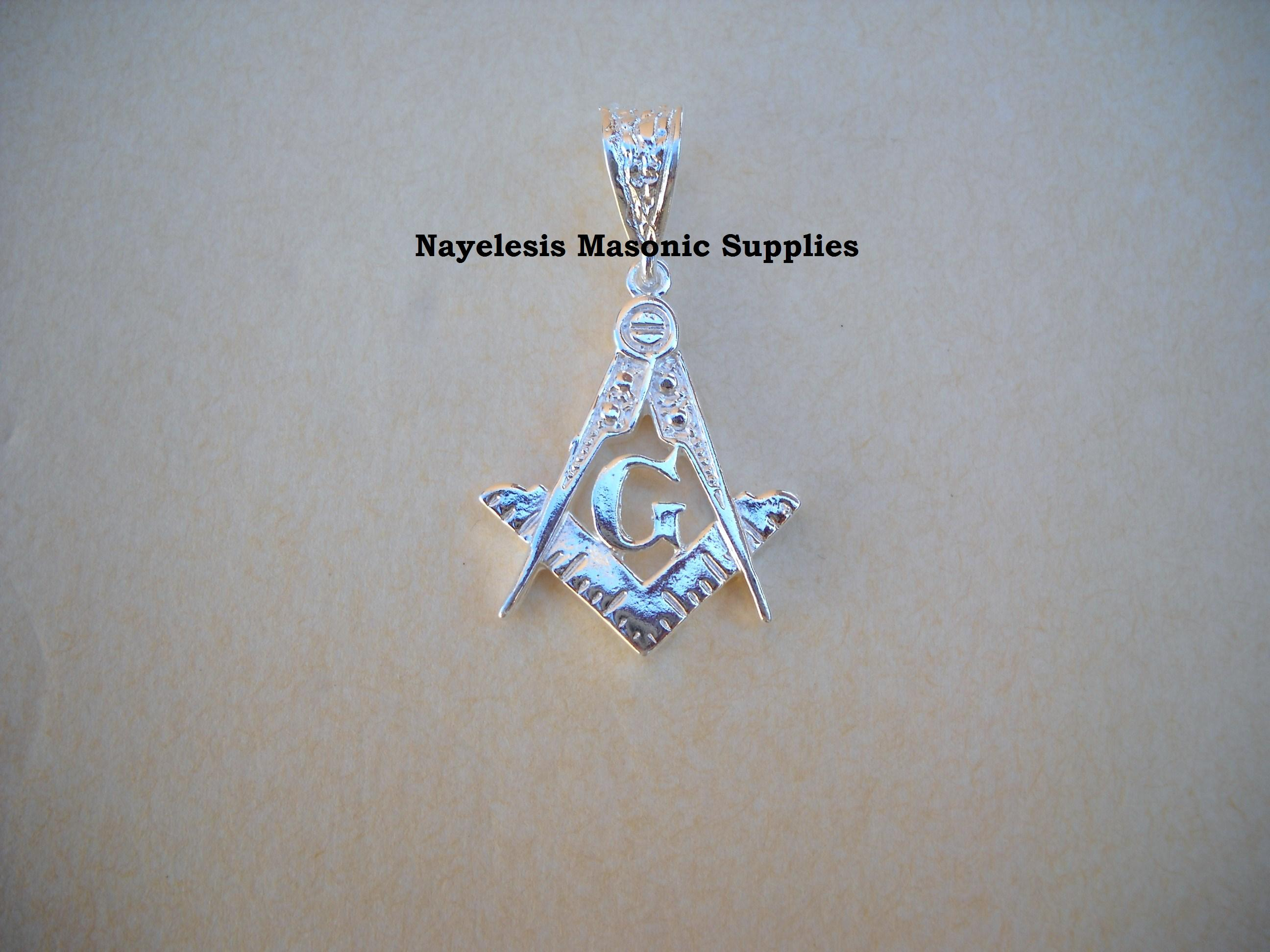 Master Mason Small  Pendant Jewel