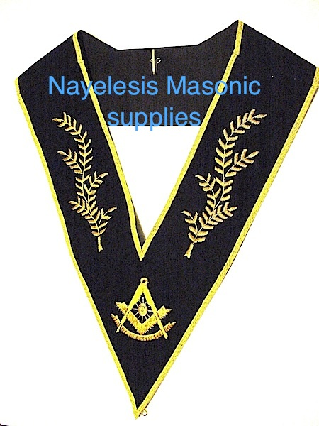 Past Master Collar Golden Embroidery #01