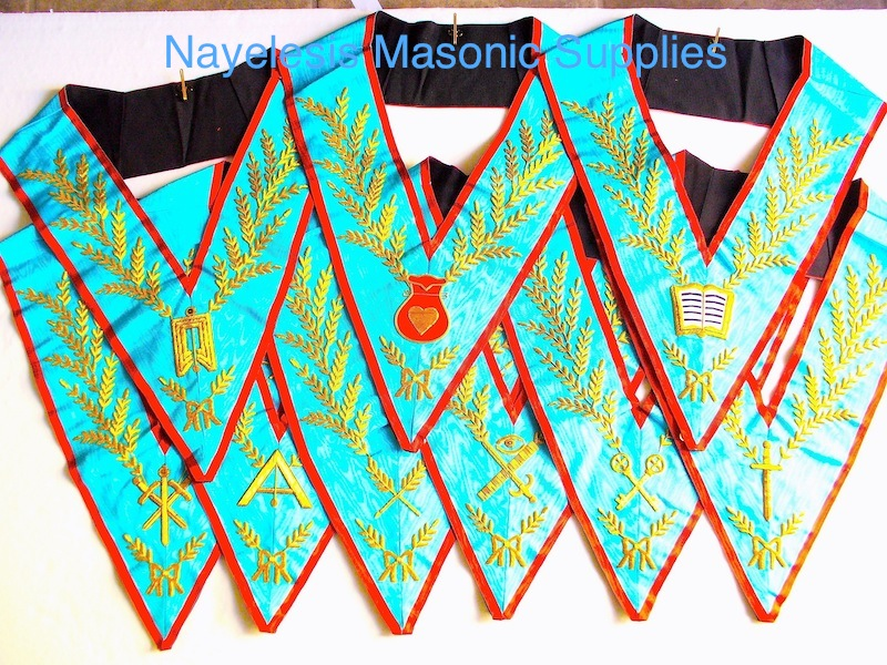Reaa 9 Officers Collars Set