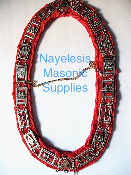 Royal Arch Red Velvet Collar