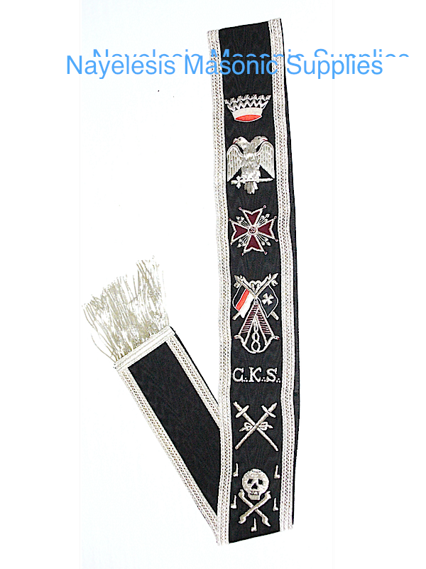 Scottish Rite 30 Degree Sash