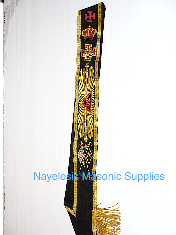 Scottish Rite 32nd Degree Sash