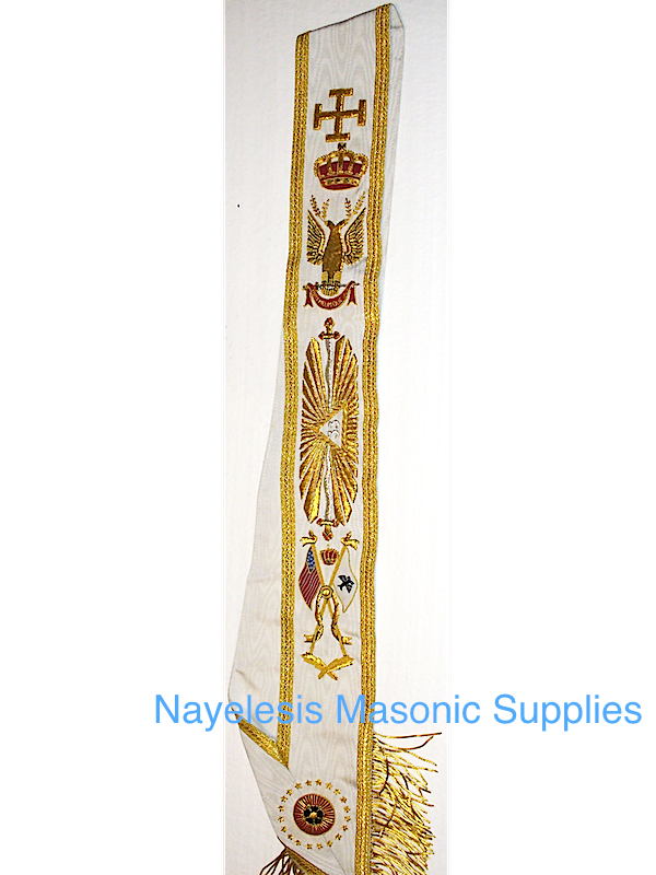 Scottish Rite 33nd Degree Sash