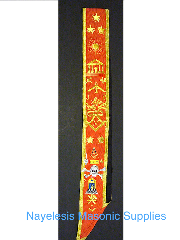 Scottish Rite  The Lux  Golden Sash Reaa