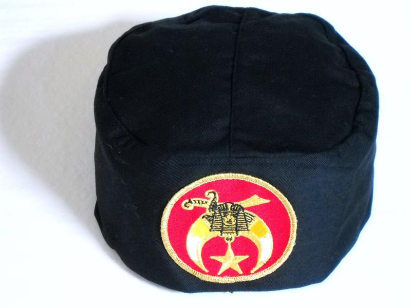 Shriner Skull Cap