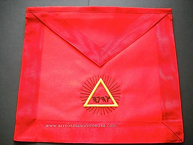 Masonic Apron 13th Degree S Rite