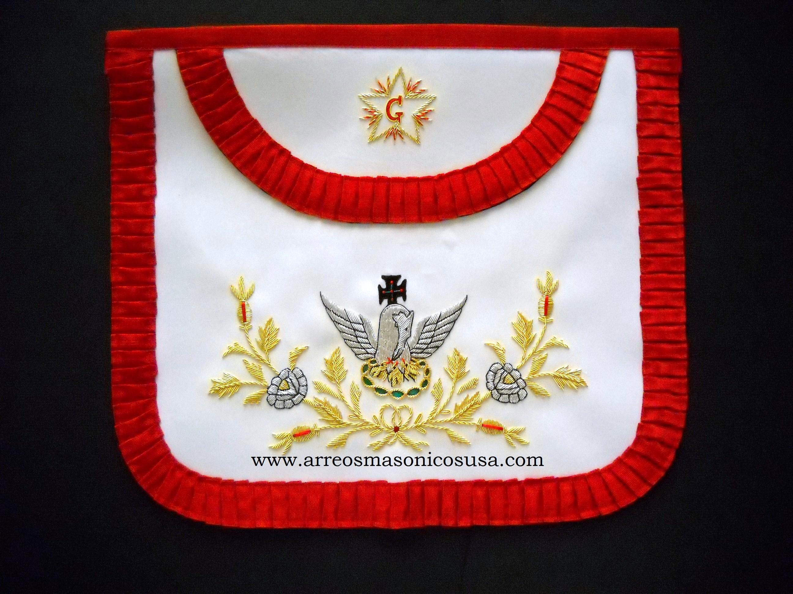 18TH Degree Masonic Apron 09