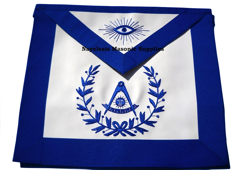 MA- Blue Lodge Masonic Past Master Apron 0091