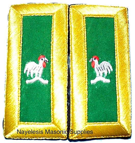 Capt General  Mylar Shoulder Boards