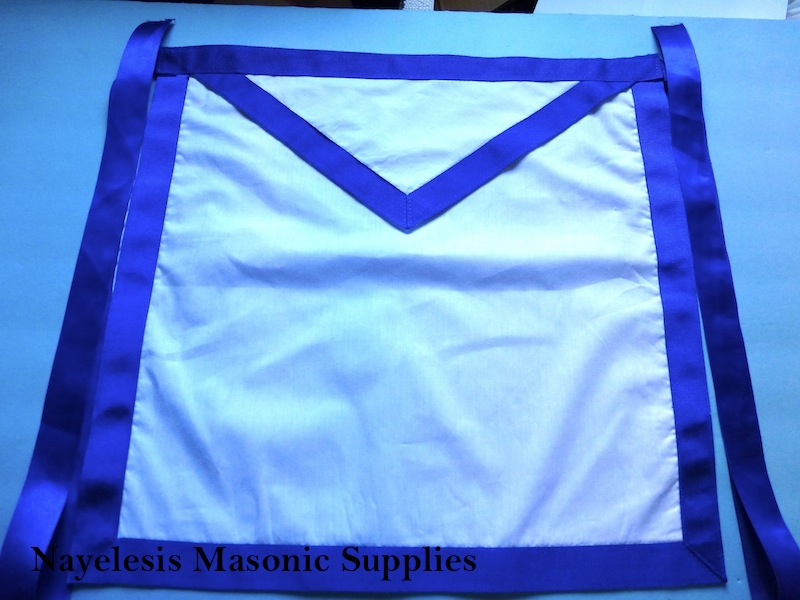 Masonic Blue Borders Cloth  Texas Style16x16 Inches