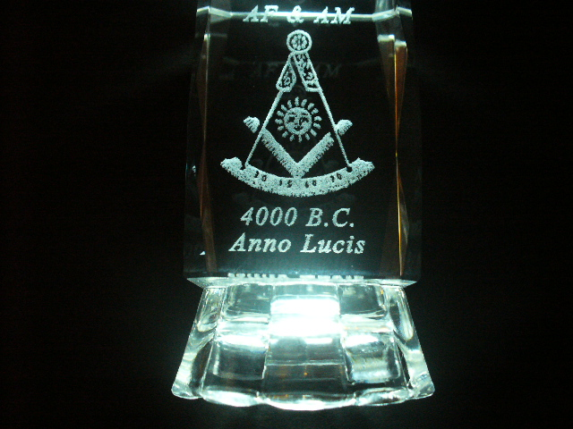 PAST MASTER CRYSTAL