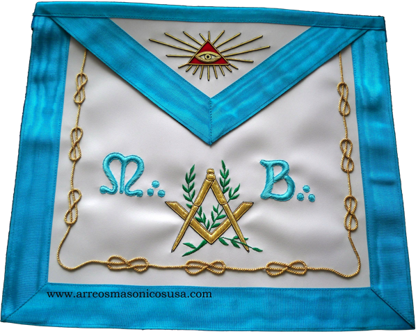 French Rite Masonry Regalia  Apron