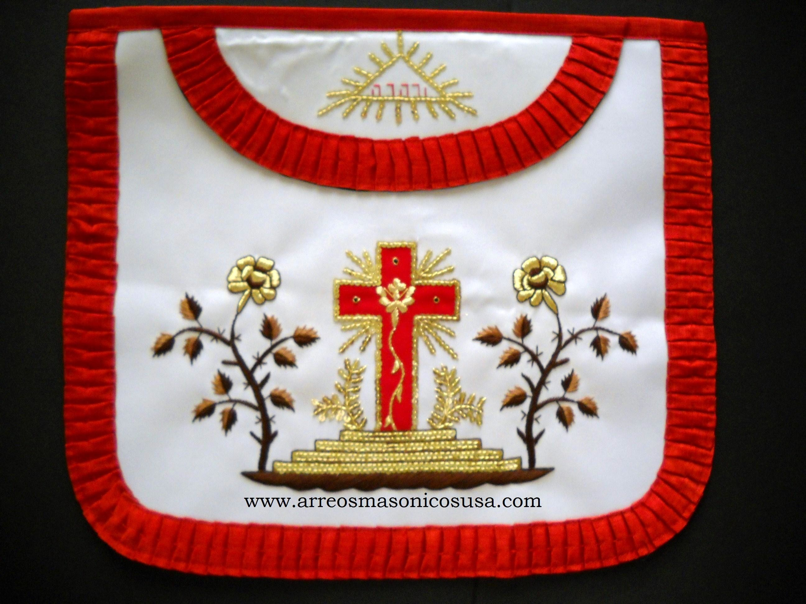 Rose Croix 18 Degree Apron