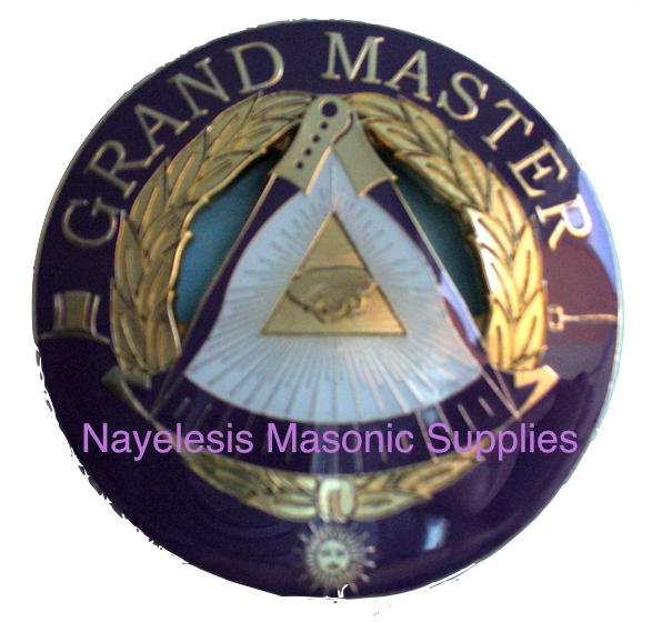 Grand Master Alloy Zinc Car Emblem