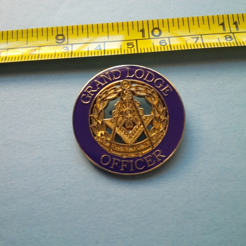 Grand Lodge Large Lapel Pin