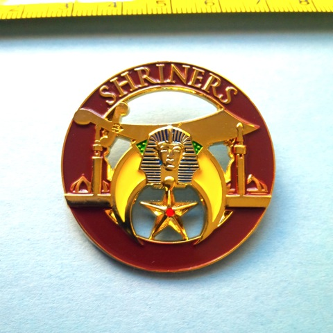 Delux Large Shriner Pin
