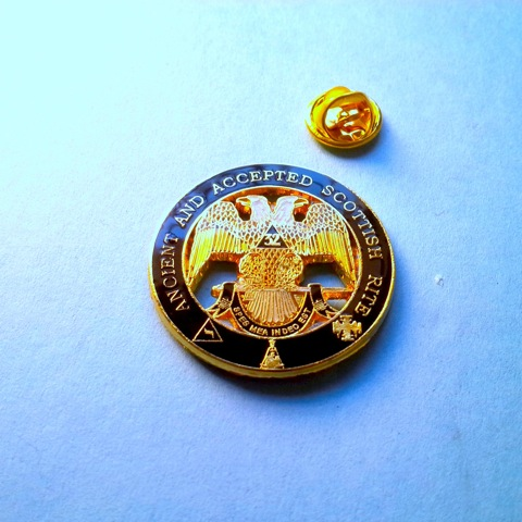 32nd Degree Delux Lapel Pin