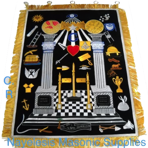 Masonic Provost  Masters Tapestry