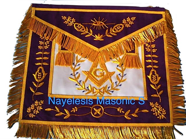 Master Mason The Lux 03 Purple Masonic Regalia