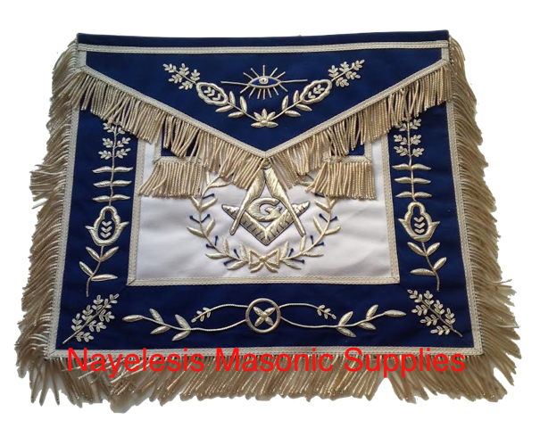 Master Mason The Lux 04 Blue Masonic Regalia