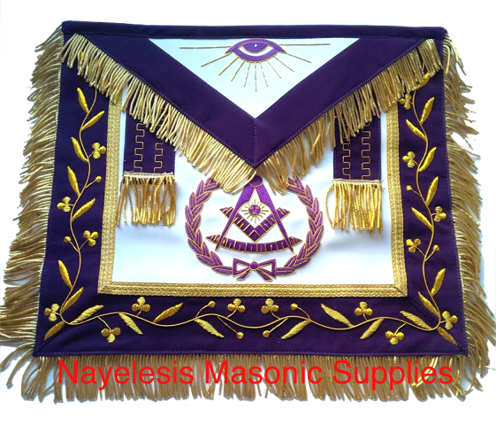 Masonic 0082 Past master apron