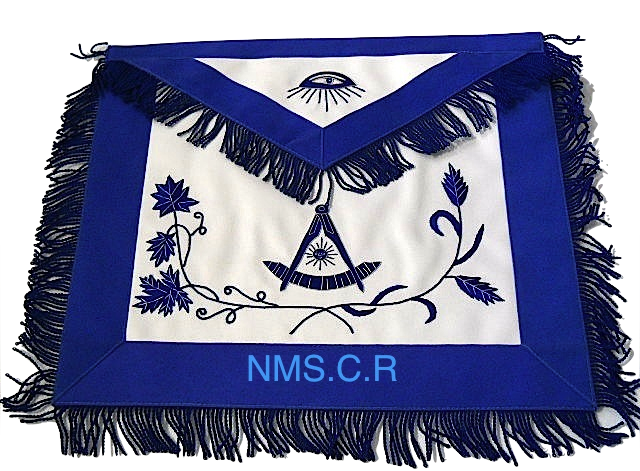 Past Master Apron Blue 01