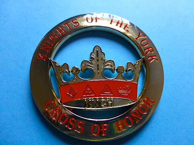 Knights Of The York Cut Out High Quality Car Emblem Golden