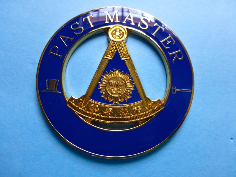 Past Master Auto Decal Car Emblems