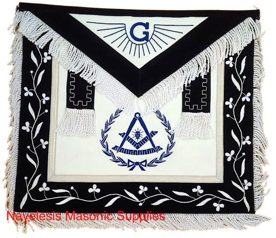 Masonic 00PM1 Past Master Apron